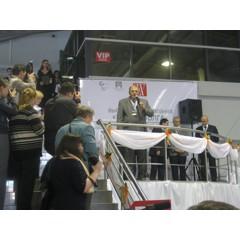 Фото свыставки «Нефтедобыча. Нефтепереработка. Химия—2011»: Выступление организаторов выставки